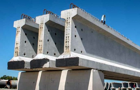 precast concrete section