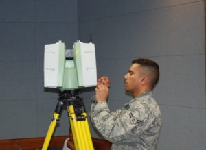 3D scanner used in surveying