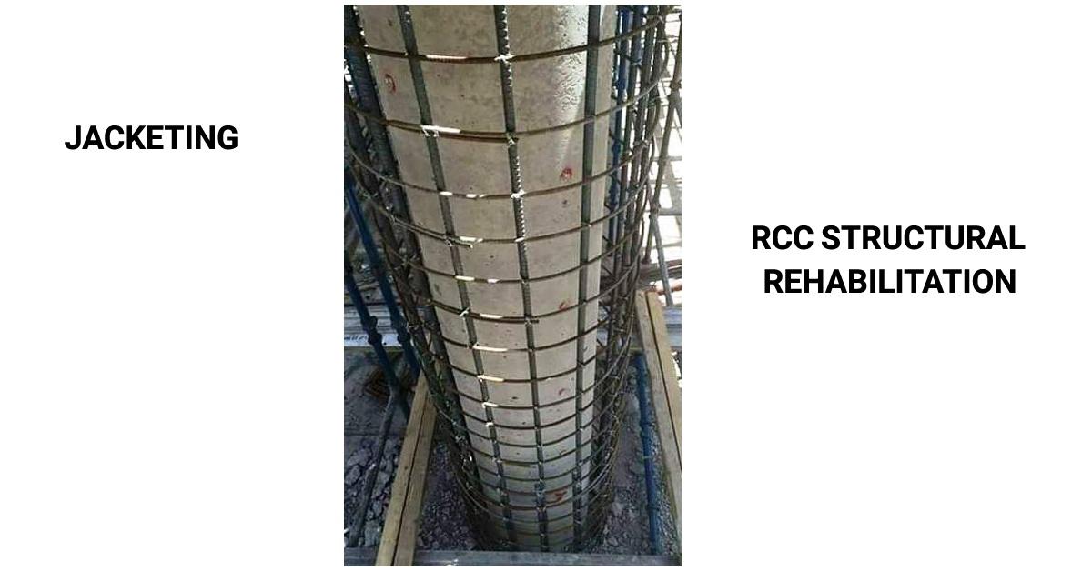 Jacketing RCC Column