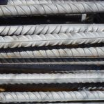 Standard unit weight of steel bars