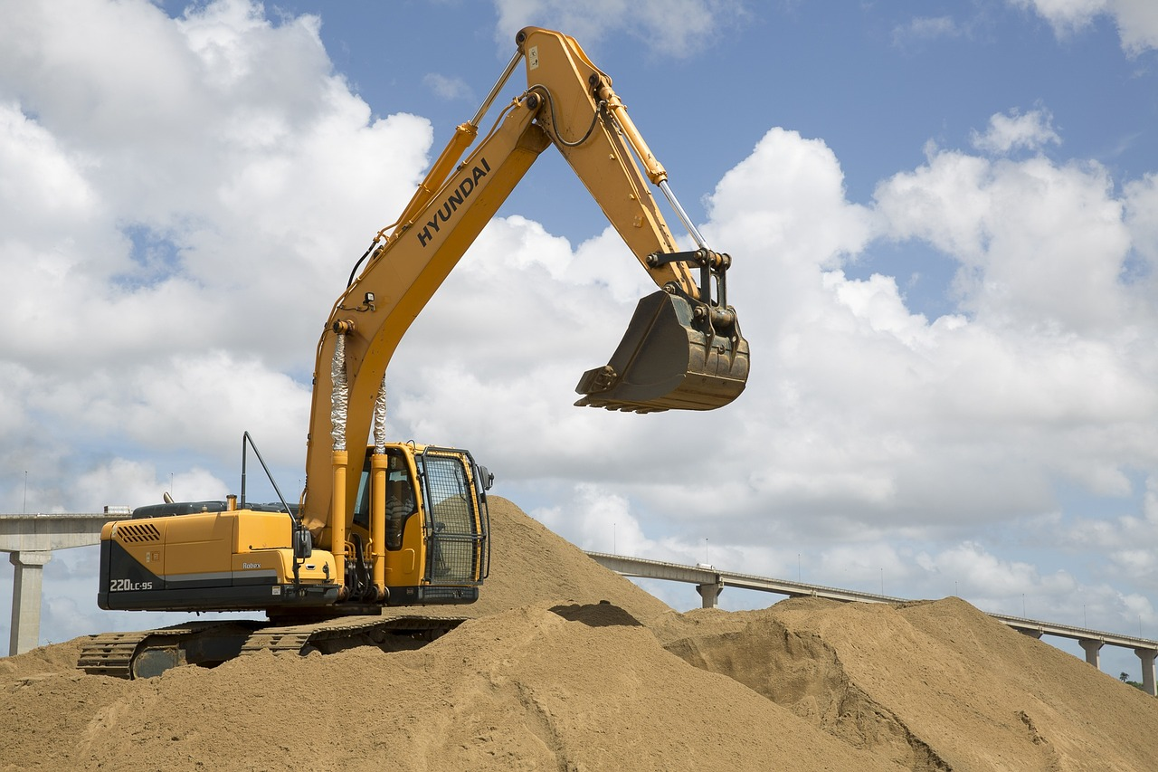 Power Shovel - a type of heavy equipment