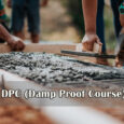 Laying DPC ( Damp Proof Course) Layer